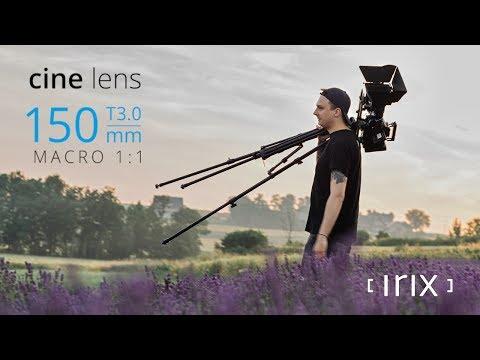 Irix Cine 150 mm T3.0 Macro 1:1 : premier modèle d'une gamme cinéma