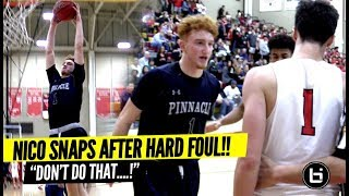 """""""Don't DO THAT ISH"""" Nico Mannion Makes Em PAY After Getting Fouled HARD! Trent GOES OFF AGAIN!"""