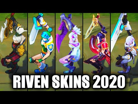 All Riven Skins Spotlight 2020 (League of Legends)