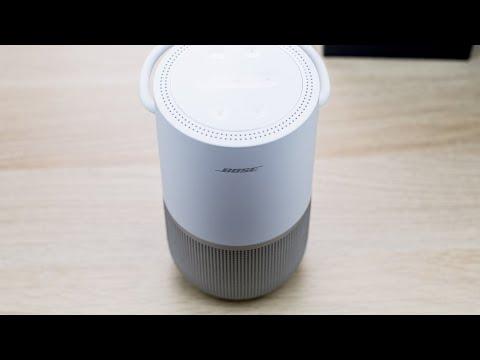 Bose Portable Home Speaker. Распаковка