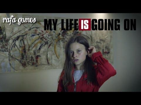 LA CASA DE PAPEL - MY LIFE IS GOING ON  Cover - RAFA GOMES