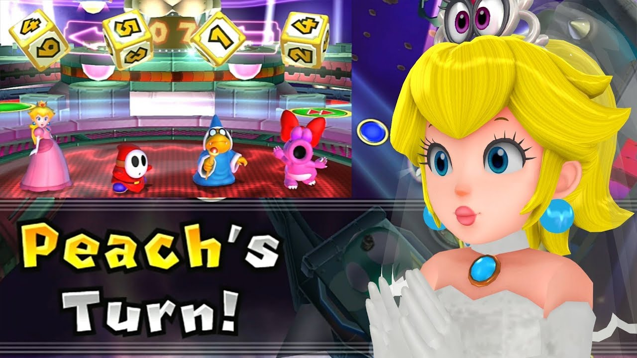 Mario Party 9 Solo Mode Peach Bowser Station Part 6 351 Youtube