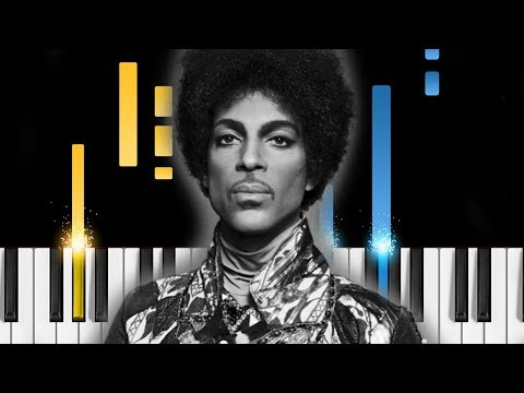 Prince - Purple Rain - EASY Piano Tutorial