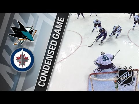 San Jose Sharks vs Winnipeg Jets – Jan. 07, 2018 | Game Highlights | NHL 2017/18. Обзор матча
