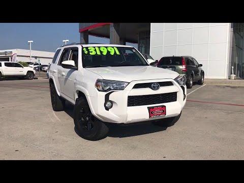 2016 Toyota 4Runner Laredo, Alice, Hebbronville, Cotulla and Webb County, TX PT2282
