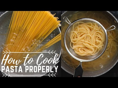 How To Cook Pasta Properly ( Step by Step Pasta Cooking )