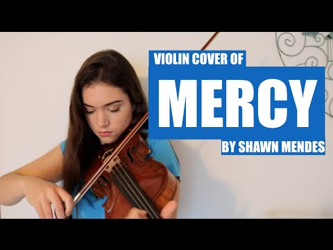 SHAWN MENDES MERCY ~ COVER