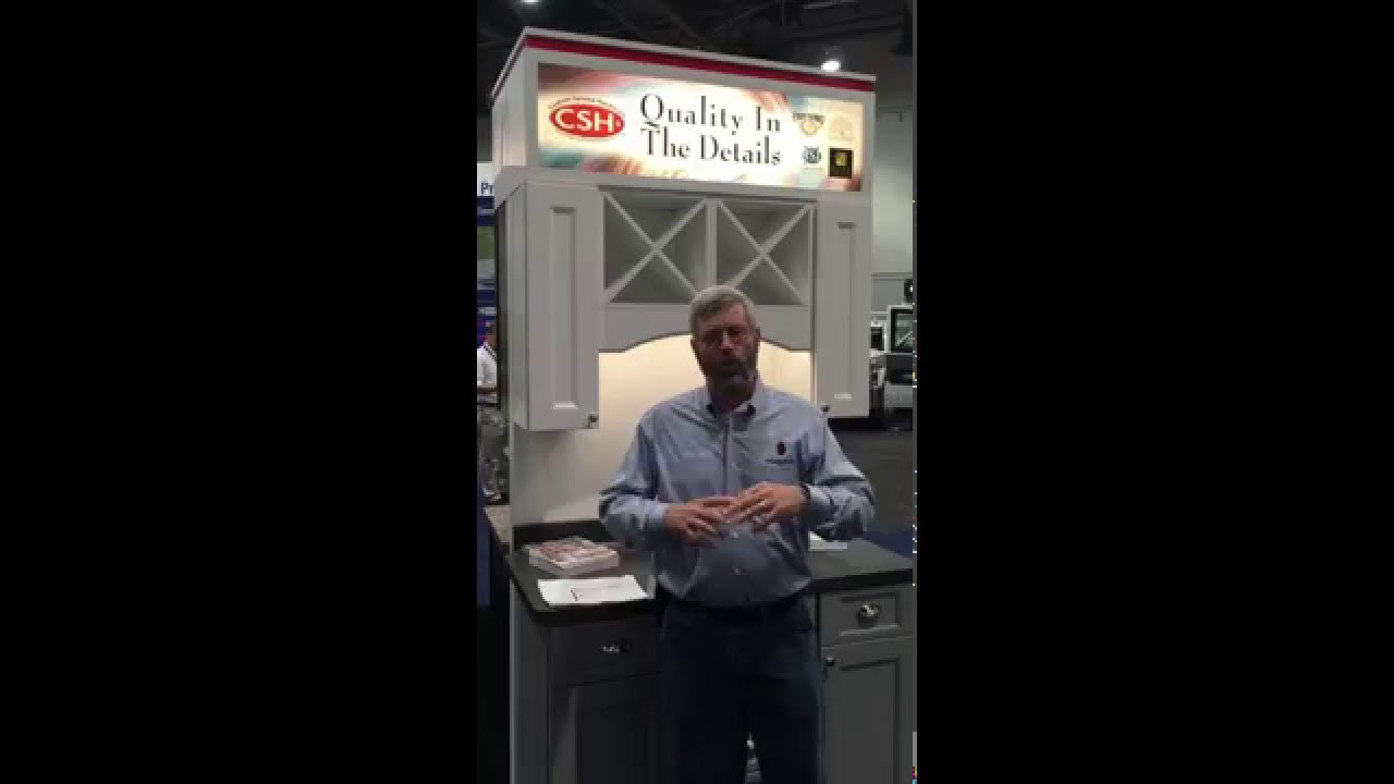 Gary Striegler Discusses Csh S Cabinets