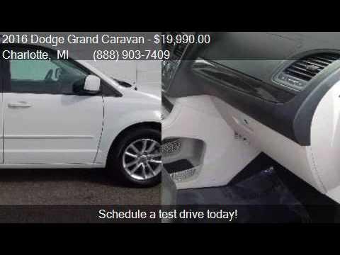 2016 Dodge Grand Caravan SXT 4dr Mini Van for sale in Charlo