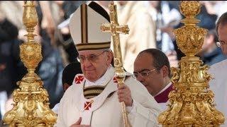 Папа Римский Франциск официально вступил на престол