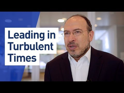 Leading in Turbulent Times with Tawfik Jewlassi (OWP Singapore 2017)