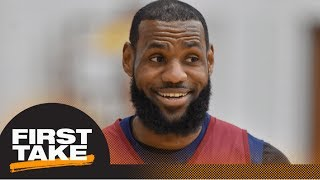 LeBron James calls out double standard between NBA players and owners   First Take   ESPN