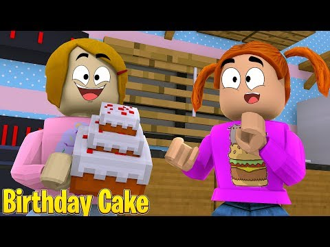 Roblox Roleplay Molly Bakes A Birthday Cake For Daisy!