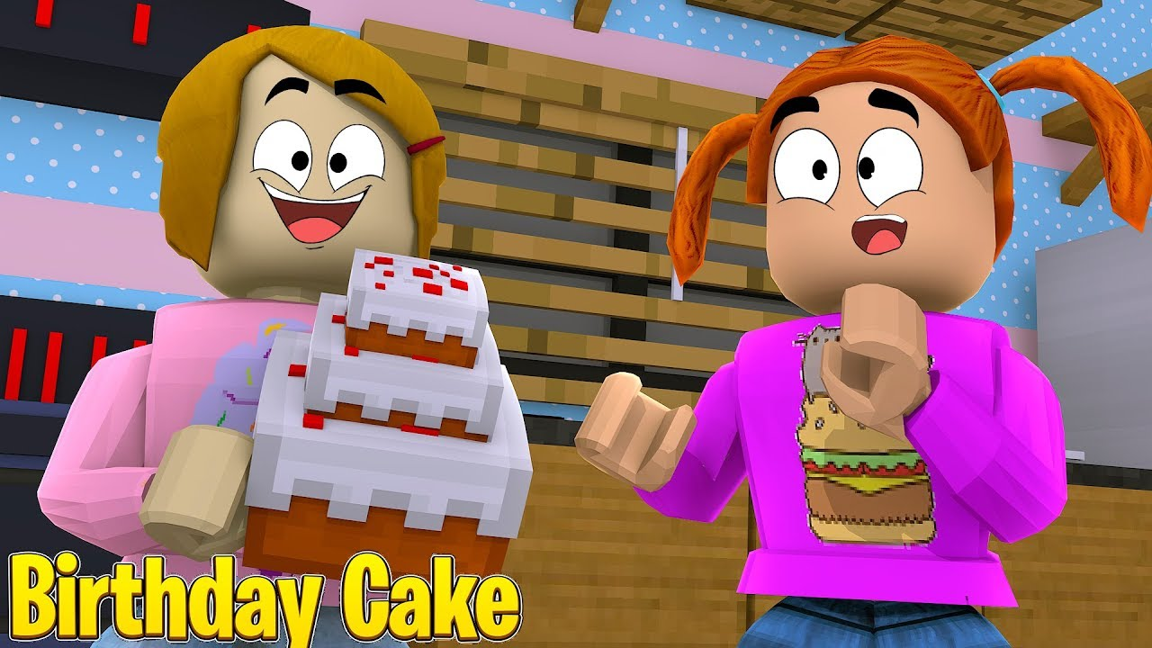 Roblox Roleplay Molly Bakes A Birthday Cake For Daisy