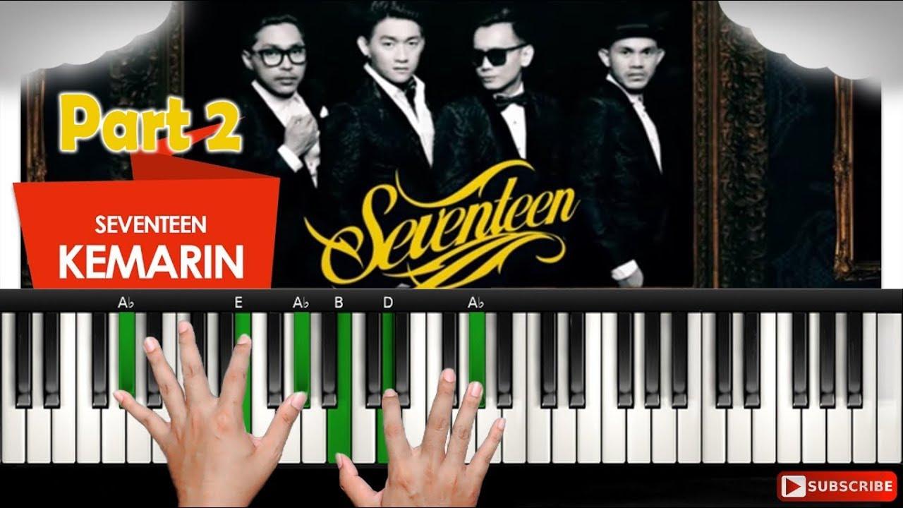 Kemarin Seventeen Tutorial Piano Belajar Piano Keyboard Youtube