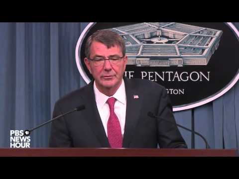 Watch Defense Secretary Carter announce end of ban on women in military combat roles