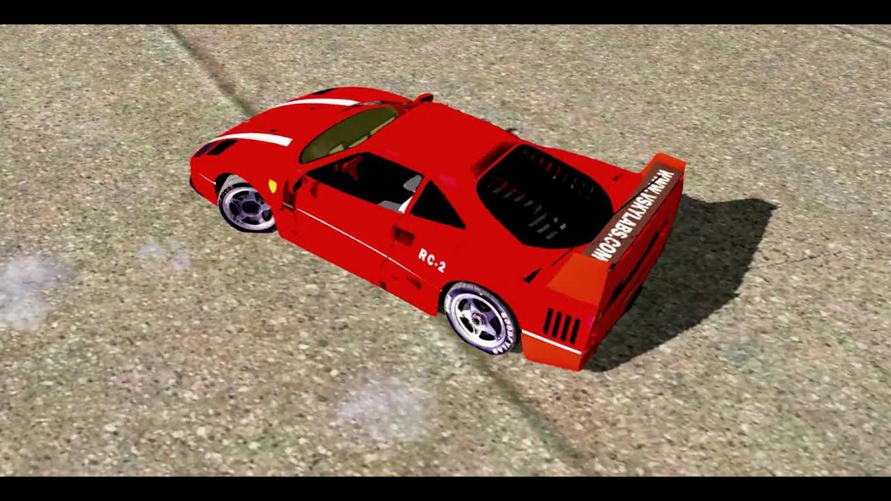 Vskylabs Rc Ferrari F40 Lamborghini Countach X Plane