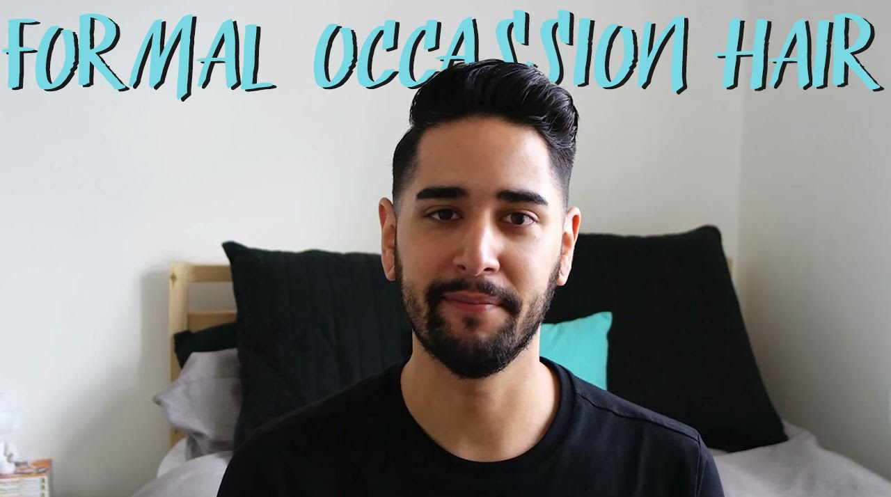 Wedding Prom Formal Occasion Hair Style Tutorial James Asos