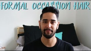 Wedding / Prom / Formal occasion hair style tutorial | James | ASOS Stylist