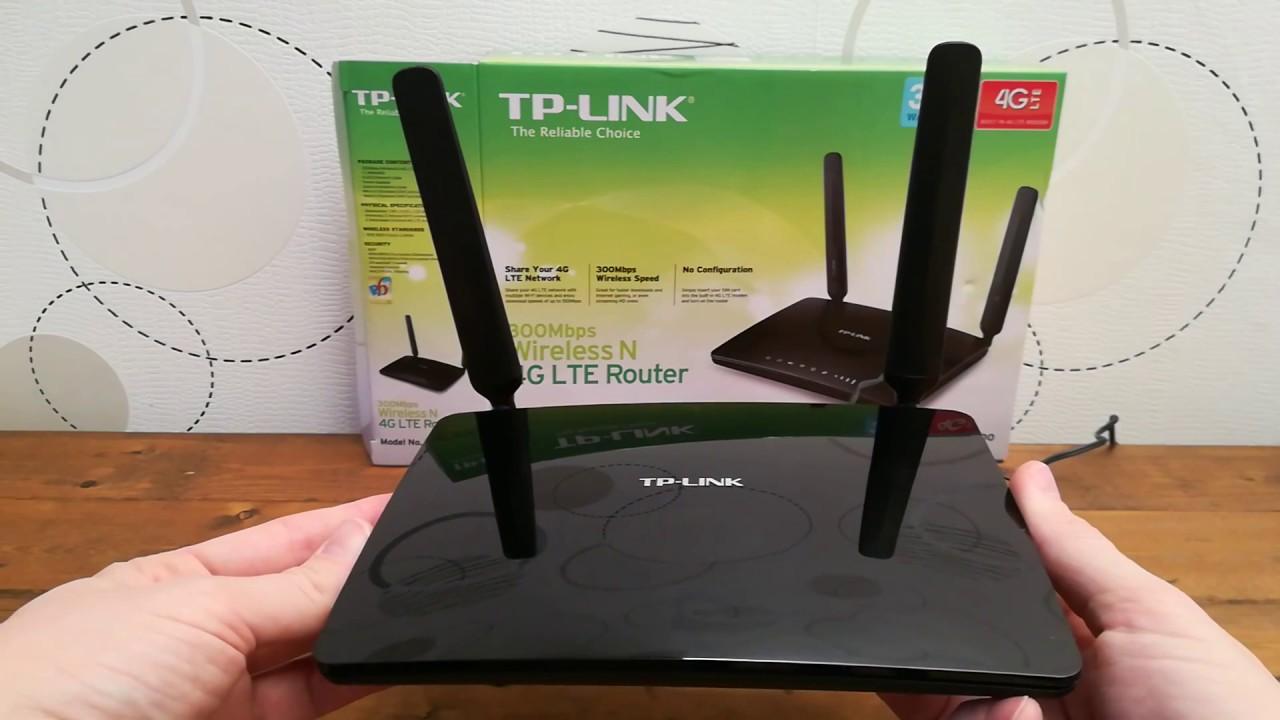 TP-LINK TL-MR6400 300 Mbps N-es 4G LTE Router