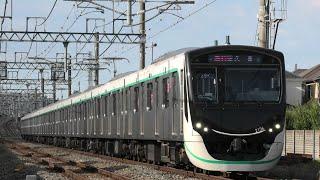 東急2020系2136F 急行久喜行 北越谷~大袋通過【4K】