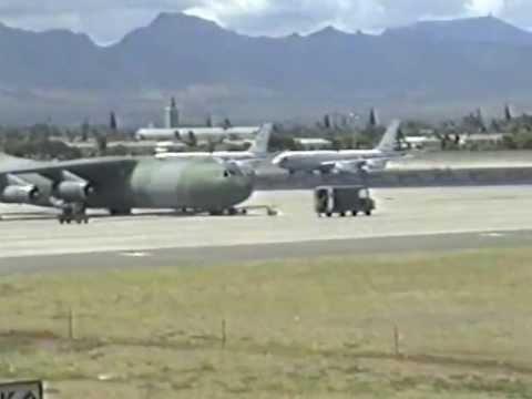 HICKAM USAF BASE HAWAII 1991
