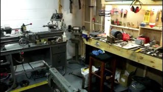 Tiny Home Machine Shop Tour 2.0!