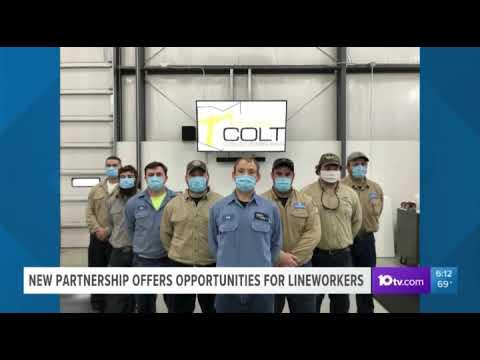 WBNS: OEC's COLT lineworker program partners with West Virginia University at Parkersburg