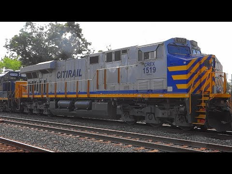 A Great Power Lashup With CITIRAIL On CSX Train