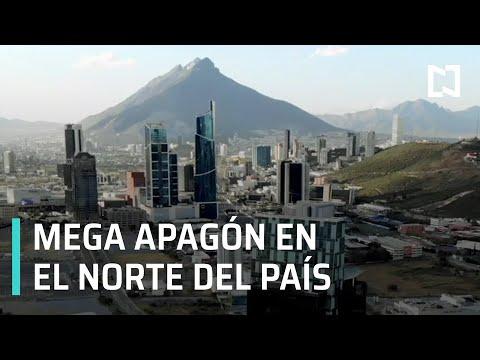 Reportan mega apagón en Nuevo León, Chihuahua, Tamaulipas y Coahuila - Expreso de la Mañana