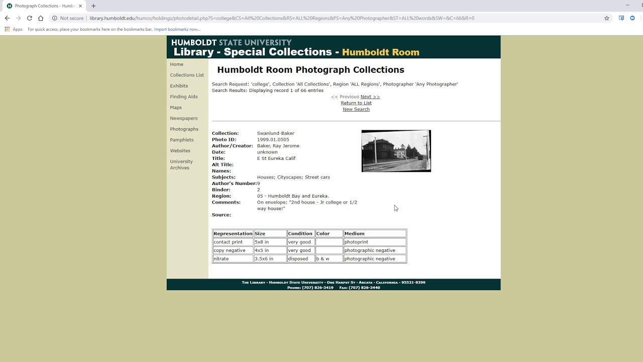 Photographs - Special Collections: Usage and Research - Research