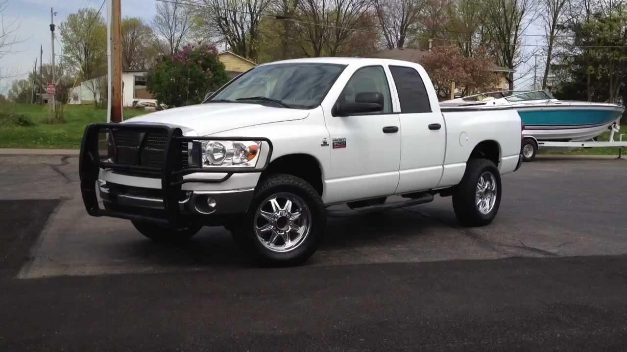 """Lone Star Dodge >> 2008 Dodge Ram 2500 Lone Star 4X4. 20"""" Wheels, CUMMINS ..."""