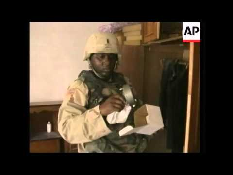 US soldiers raid homes