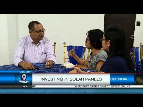 Investing In Solar Panels
