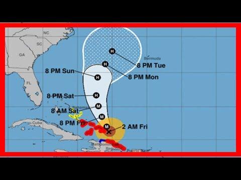 Breaking News   Hurricane maria live: 2am update from the national hurricane center – noaa latest p