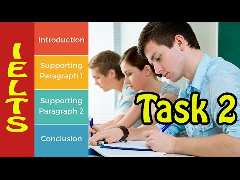 Common structure for ielts essay writing task 2 - with answers