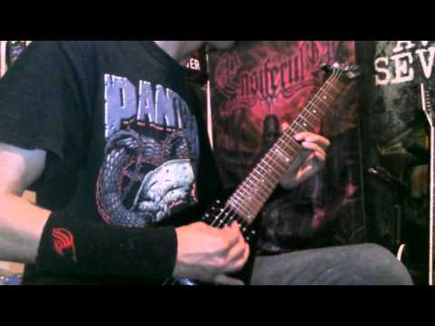 Motionless in white - Burned at Both Ends. Guitar Cover