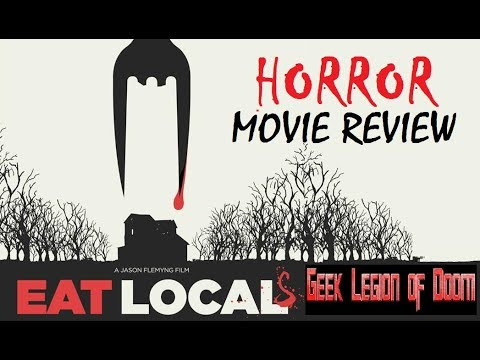 EAT LOCALS ( 2017 Charlie Cox ) aka EAT LOCAL Vampire Horror Comedy Movie Review