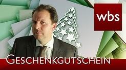 Wie lange sind Geschenkgutscheine gültig? | Rechtsanwalt Christian Solmecke