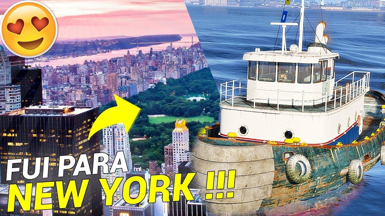 GTA 5 VIDA DE JOVEM - VOU EMBORA PARA NEW YORK *ultimo episodio* !!! ‹ BICUDO ›