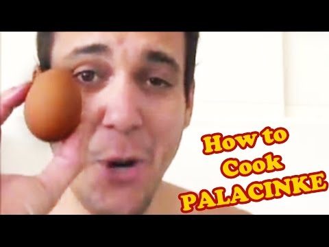 How to Cook PALACINKE