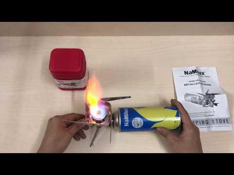 Bếp gas du lịch dã ngoại NA-169 | Travel gas stove