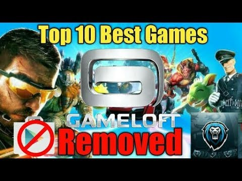 Top 10 Gameloft Games Not Available at Play Store (apk+data/obb download link)