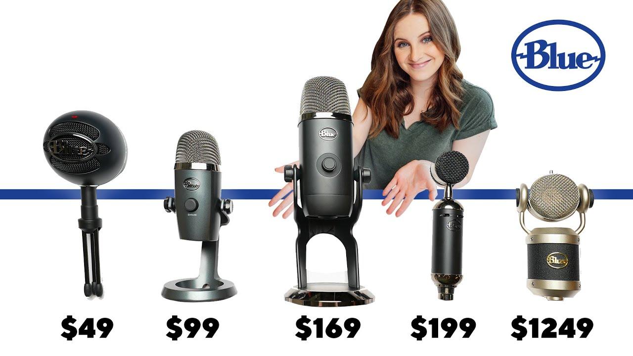 The Ultimate Blue Microphone Comparison | Snowball ICE vs Yeti Nano vs Yeti X vs Spark SL