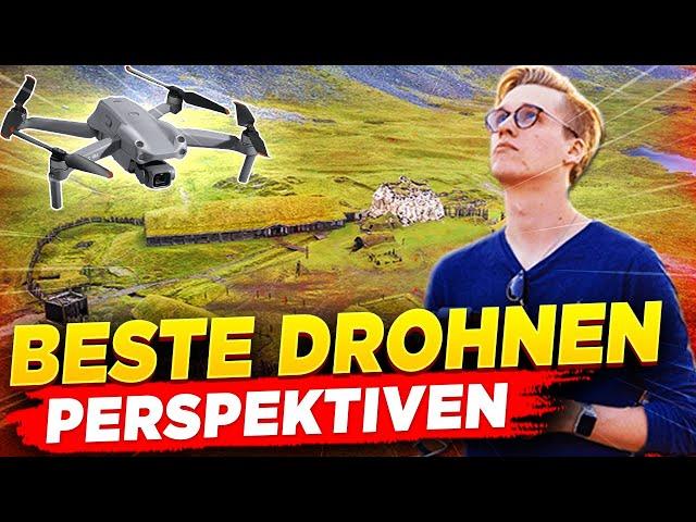 Die besten Drohnen-Perspektiven |Filmen mit Drohnen 🎬