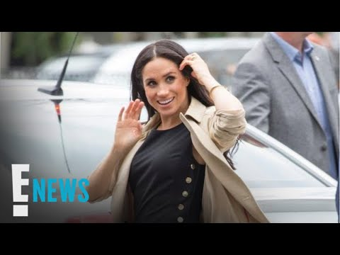 Meghan Markle Shows a Hint of Her Royal Baby Bump | E! News