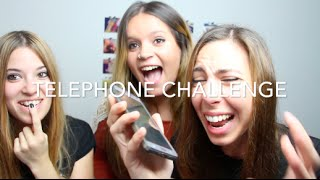 TELEPHONE CHALLENGE CON AROUND THE CORNER | Laura Yanes