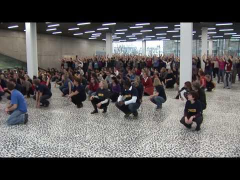 UGent Danst Voor Het Klimaat  :: Climate Dance at Ghent University, Belgium