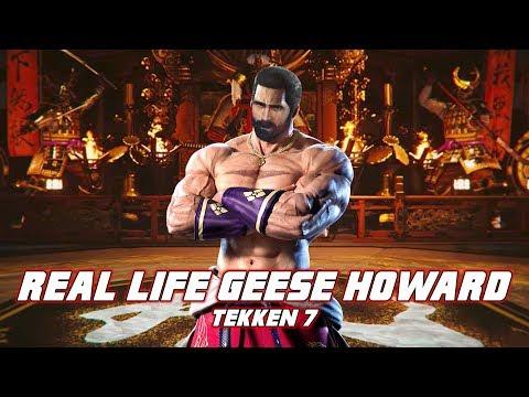 Real Life Geese Howard - Tekken Movelist IRL [Eric Jacobus]