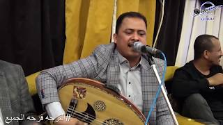 شاهد|رقص صلاح الاخفش وغناء يوسف البدجي |أيوة نويت اعشق عرس آل المغارم